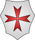 Militia Templi; The Poor Knights of Christ emblem
