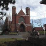 Old Historic St Francis of Assisi Catholic Church, Bend image